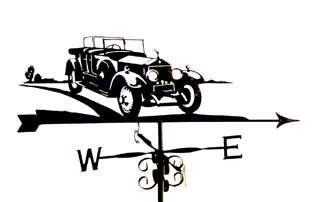 Rolls Royce weather vane